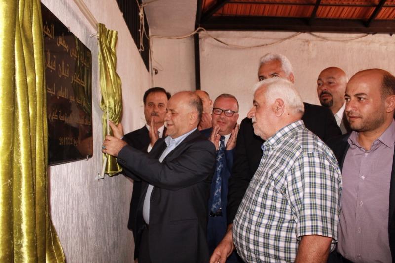 رئيس مجلس الجنوب الدكتور قبلان قبلان يضع حجر الأساس لبناء طوابق جديدة في مدارس كفررمان باحتفال حاشد