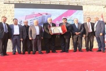 افتتاح معهد النبطية الفني برعاية الرئيس بري ممثلا بالنائب عسيران